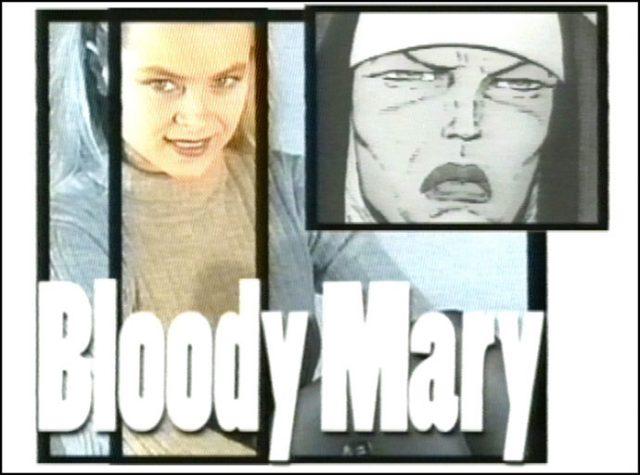 Bllody Mary. Fantascienza e fumetto
