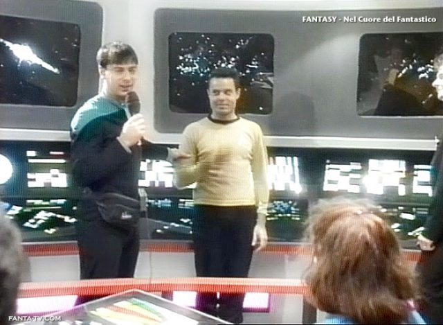 Cosplay in TV. Trekker. I fan di Star Trek su Fantasy nel 1996. Odeon TV