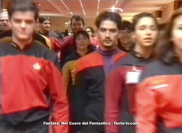 Cosplayers. I fan di Star Trek sono stati tra i protagonisti assoluti del programma televisivo.
